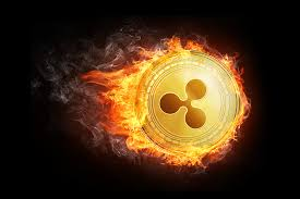 Ripple cryptocurrency fireball