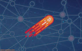 Bitcoin cryptocurrency meteor